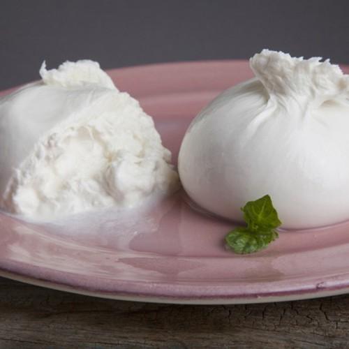 Burratina fresca in acqua - vasc. (2 x125 g)