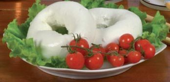 Italian Fresh Mozzarella made of buffalo's milk