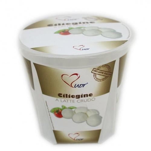 Ciliegine a latte crudo da 40 g - bicchiere da 200 g (pz)