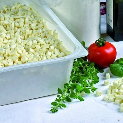 """Preparato alimentare """"Pronto Pizza"""" cubettato fresco - vasc. da 3 kg"""