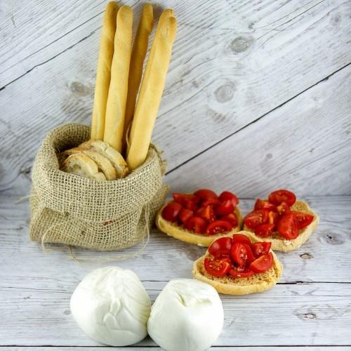 Burratina da 50 g Surgelata IQF - busta da 1 Kg