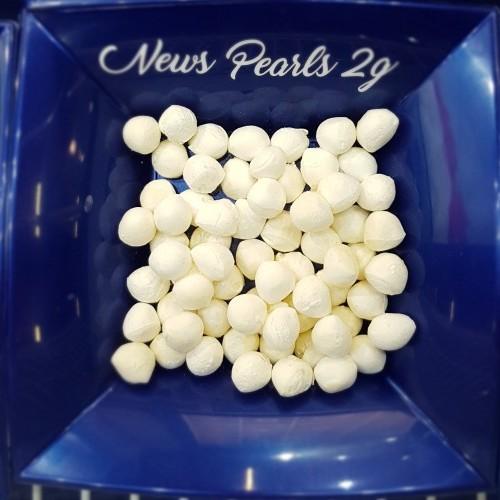 Perline di Mozzarella da 2 g Surgelate IQF - busta 1 Kg