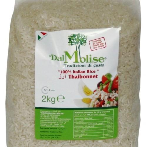 Riso Thaibonnet indica 100% Italiano - conf. da 2 kg