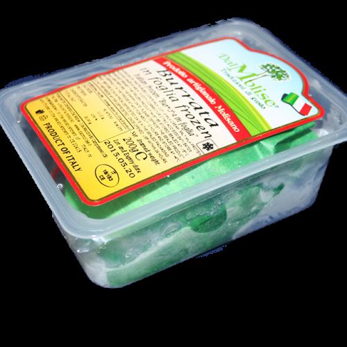 Burrata in foglia surgelata IQF - vasc. da 200 g