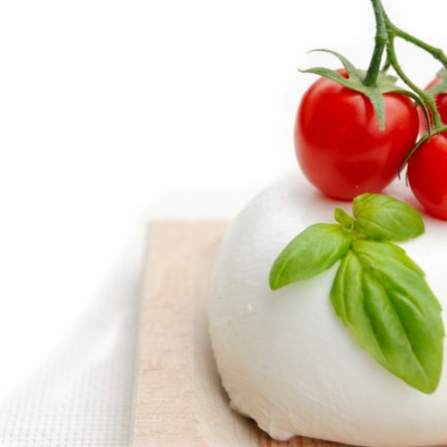 Italian Fresh mozzarella made of DOP buffalo's milk - tray of 250 g - pack of 4 kg