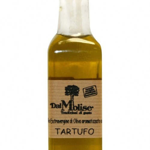 Olio al tartufo bianco in bottiglia da 60 ml