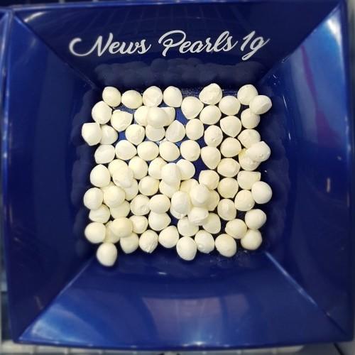 Perline di Mozzarella da 1 g Surgelate IQF - busta da 1 Kg