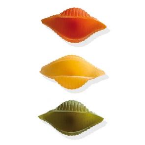 Conchiglie rigate tricolore pasta secca - conf. da 500 g