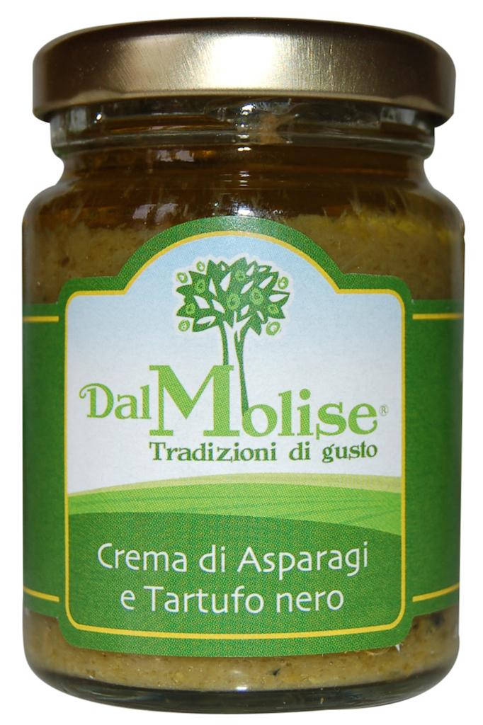 Crema di asparagi e tartufo nero in vaso da 80 g