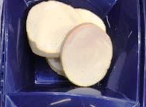 Mozzarella a Fette Surgelate IQF - busta da 1 Kg