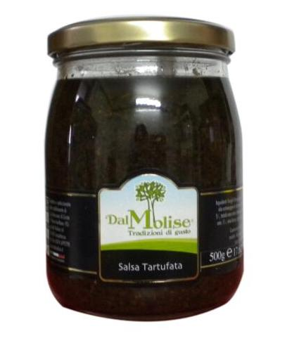Salsa tartufata in vaso da 500 g