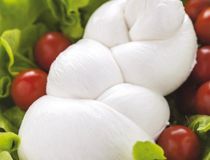 Mozzarella di Bufala Campana DOP - Treccia - vasch. da 250 g - conf. da 4 kg
